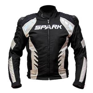 Pánska textilná moto bunda Spark Hornet čierna - 6XL vyobraziť