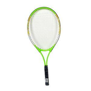 Detská tenisová raketa Spartan Alu 64 cm bielo-zelená vyobraziť