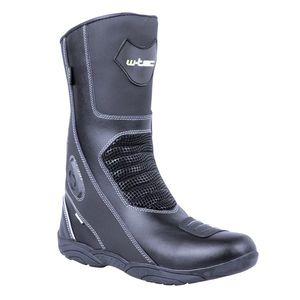 e229661ef489 Dámske kožené moto topánky W-TEC Jartalia NF-6092 čierna - 41 (42 ...