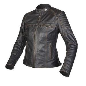 Dámska moto bunda REBELHORN Hunter Lady čierna - L vyobraziť
