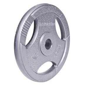 Oceľový olympijský kotúč inSPORTline Hamerton 25 kg vyobraziť