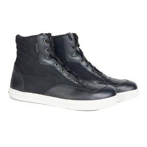 Moto topánky Rebelhorn Traffic Leather čierna - 48 vyobraziť