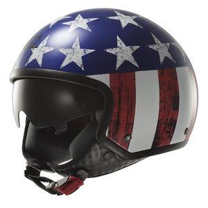 Moto prilba LS2 OF561 Wave Raw US Flag modro-červeno-biela - XL (61-62) vyobraziť