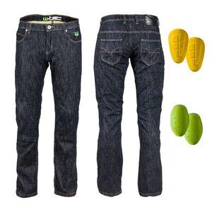 Pánske moto jeansy W-TEC A-1013 čierna - 46 vyobraziť