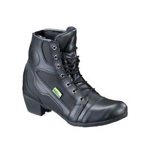Dámske kožené moto topánky W-TEC Jartalia NF-6092 čierna - 42 vyobraziť