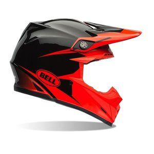 Motokrosová prilba BELL Moto-9 oranžovo-čierna - M (57-58) - Záruka 5 rokov vyobraziť
