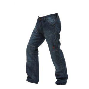 Pánske jeansové moto nohavice Spark Track čierna - 46/6XL vyobraziť