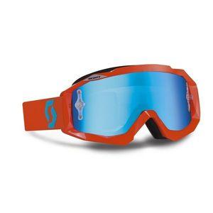 Moto okuliare SCOTT Hustle MXV oranžovo-modrá vyobraziť