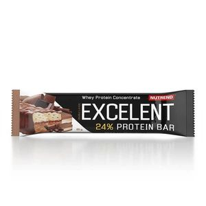 Proteínová tyčinka Nutrend Excelent Bar Double, 40 g mandle+pistácie s pistáciami vyobraziť