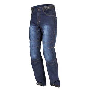 909b39c88eda Pánske motocyklové jeansové nohavice Rebelhorn URBAN II modrá - XXL