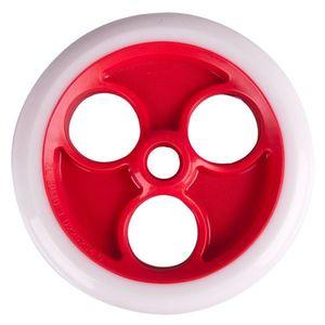 Predné koliesko Spartan 230x33mm pre kolobežku Jumbo 2 bielo-červená vyobraziť