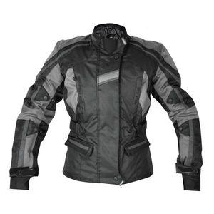 Textilná bunda Rebelhorn GLAM čierno-šedá - L vyobraziť