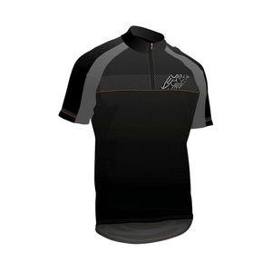 Cyklistický dres KELLYS PRO SPORT čierno-oranžová - M vyobraziť
