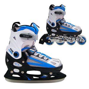 Šport/Športy/Kolieskové korčule/Detské kolieskové korčule/2v1 detské korčule vyobraziť