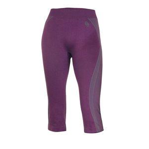 Dámske thermo 2/3 nohavice Brubeck fialová - L vyobraziť