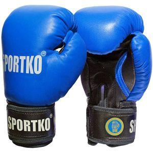 Boxerské rukavice SportKO PK1 červená - 12oz vyobraziť