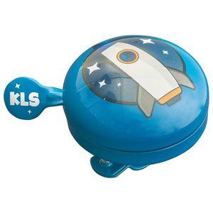 Zvonček na bicykel Kellys Bell 60 Kids Red vyobraziť
