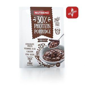 Proteinová ovsená kaša Nutrend Protein Porridge 5x50g malina vyobraziť