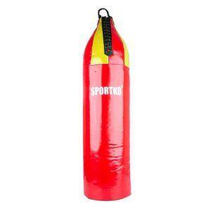 Detské boxovacie vrece SportKO MP7 24x80 cm modro-červená vyobraziť