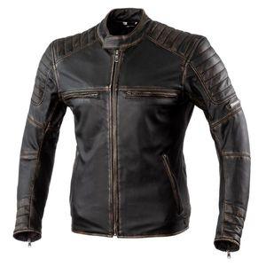 Kožená moto bunda Rebelhorn Hunter Pro CE Black - 5XL vyobraziť