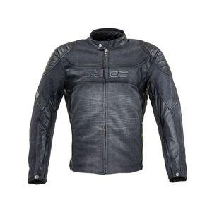 Moto bunda W-TEC Metalgy čierna - 6XL vyobraziť