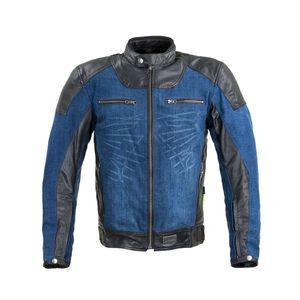 Moto bunda W-TEC Kareko modrá - 6XL vyobraziť