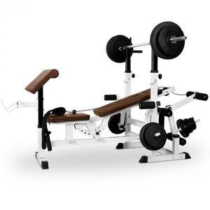 KLARFIT posilňovacia lavica, bench press vyobraziť