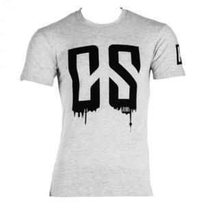 Capital Sports Beforce, veľkosť L, sivé, tréningové tričko, pánske vyobraziť