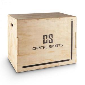 """Capital Sports Shineater, Plyo Box s tromi výškami 20"""" 24"""" 30"""" vyobraziť"""