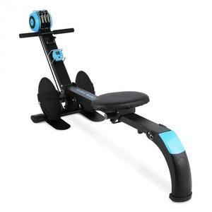 Capital Sports Stringmaster, čierny/modrý, veslovací trenažér, 100 kg, sklápací vyobraziť