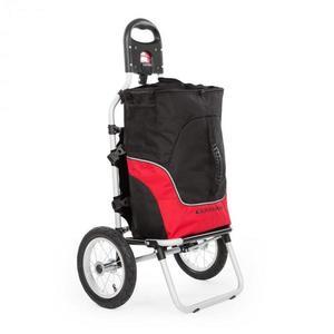 DURAMAXX Carry Red, cyklovozík, vozík za bicykel, ručný vozík, max. nosnosť 20 kg, čierno-červený vyobraziť