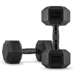 Capital Sports Hexbell, pár jednoručných činiek, 2 x 27.5 kg, čierne vyobraziť