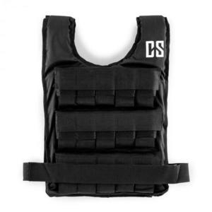 Capital Sports Monstervest, záťažová vesta, 15 kg, univerzálna veľkosť, nylon, čierna vyobraziť