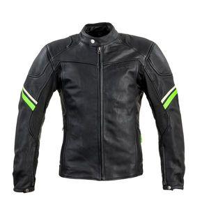 Kožená moto bunda W-TEC Montegi matne čierna - 6XL vyobraziť