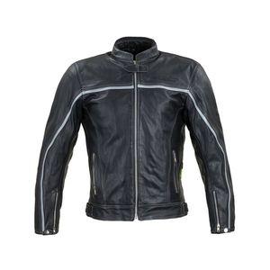 Kožená moto bunda W-TEC Mathal čierna - 6XL vyobraziť