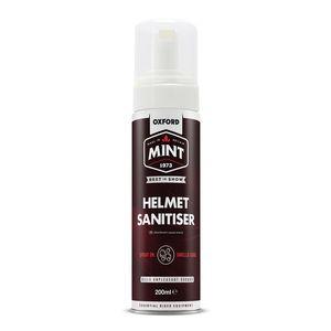 Čistič interiéru prilieb Mint Helmet Sanitiser 200 ml penový v spreji s dávkovačom vyobraziť
