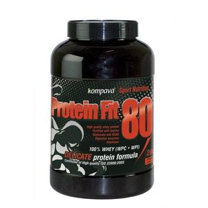 Protein Fit 80 - Kompava 2000 g Vanilka vyobraziť