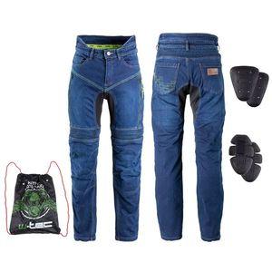 Pánske moto jeansy W-TEC Biterillo modrá - 6XL vyobraziť