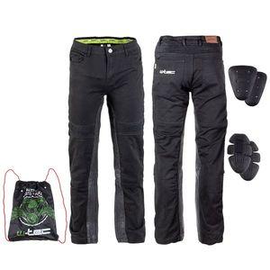 Pánske moto nohavice W-TEC Raggan čierna - 5XL vyobraziť