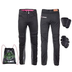 Dámske moto nohavice W-TEC Ragana čierna - 4XL vyobraziť