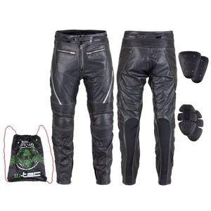 Kožené moto nohavice W-TEC Vilglen čierna - 5XL vyobraziť