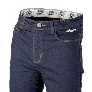 Pánske moto jeansy W-TEC Resoluto modrá - 5XL vyobraziť