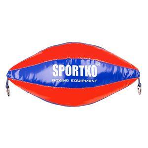 Boxovacie vrece SportKO GP2 žlto-modrá vyobraziť