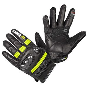 Moto rukavice W-TEC Rushin Black-Fluo Yellow - 3XL vyobraziť