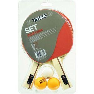 Stiga PERFORM SET červená - Set na stolný tenis vyobraziť
