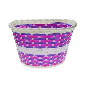 Detský predný košík Nexelo bielo-fialový vyobraziť