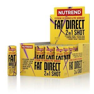 Spaľovač Nutrend Fat Direct Shot 20x60 ml vyobraziť