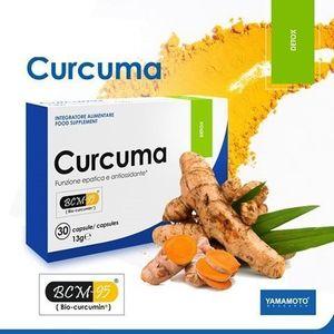 Curcuma (detoxikácia organizmu) - Yamamoto 30 kaps. vyobraziť