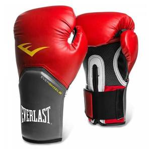 Boxerské rukavice Everlast Pro Style Elite Training Gloves čierna - M (12oz) vyobraziť