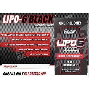 Nutrex Lipo 6 Black 60 tabliet vyobraziť